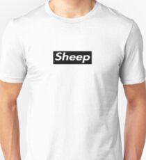 sheep black Unisex T-Shirt