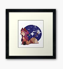 Faux Fox Witch Framed Print