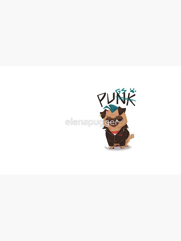 Punk? No, pugs! by elenapugger