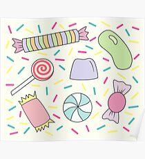 Sweets & Sprinkles Pattern Poster