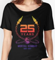 25 Years of Mortal Kombat Women's Relaxed Fit T-Shirt