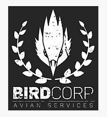BIRDCORP - Avian Services Photographic Print