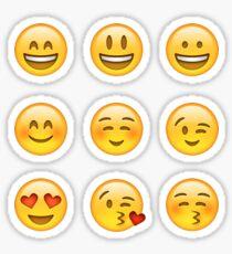 Smilies Emoji (Packung A) Sticker