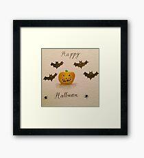 Halloween Horror  Framed Print