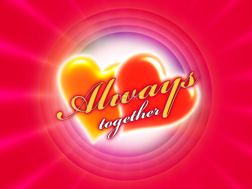 Always together 6 (card) by houk
