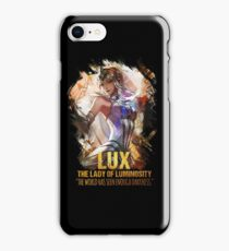 League of Legends LUX - THE LADY OF LUMINOSITY iPhone Case/Skin