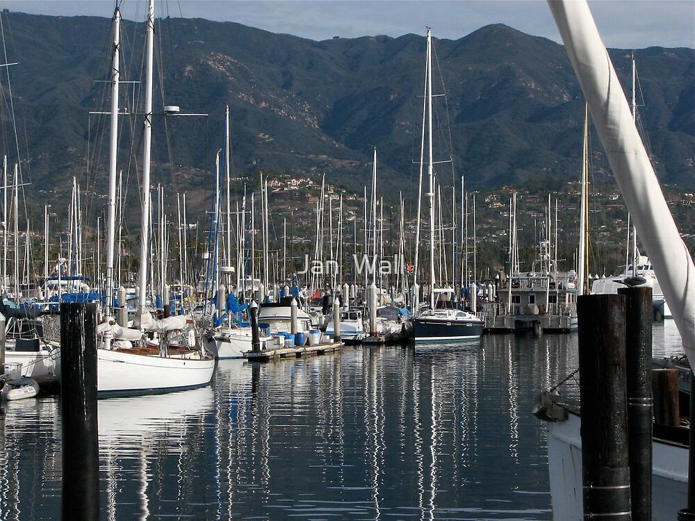 Santa Barbara Marina by Jan  Wall