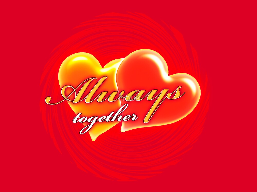Always together 5 (card) by houk