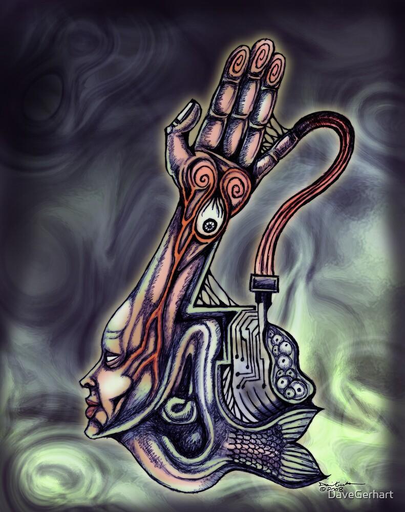 Accretion 006 (Goddess/Monolith) by DaveGerhart