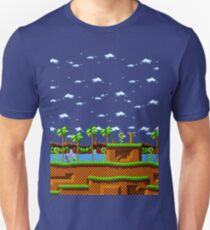 Green Hill Zone - Sonic the Hedgehog Scene T-Shirt
