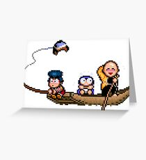 Out fishing Greeting Card