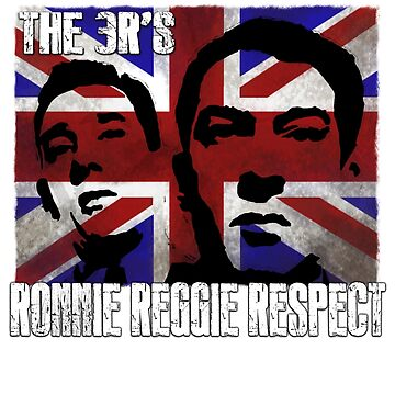 Kray Twins Union Jack T shirts by Sevetheapeman