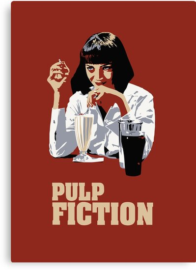 pulp Fiction by lor4rt