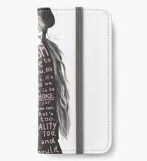 Emma Watson Feminism Design iPhone Wallet/Case/Skin