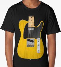 Electric Guitar Long T-Shirt