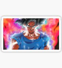goku ultra instinct perfect kaioken limit the break - Dragon Ball Super Sticker