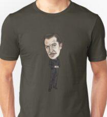 Vincent Price Inspired Horror Illustration  T-Shirt