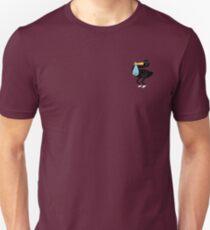 Sassy Delivery Stork - transparent background Unisex T-Shirt