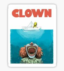 Clown it Sticker