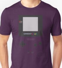Retro Game Purple Unisex T-Shirt