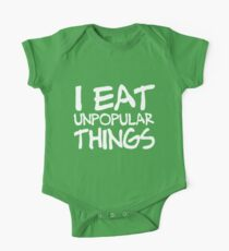 I EAT UNPOPULAR THINGS Kids Clothes
