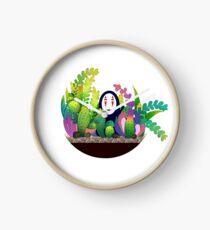 No-Face (Kaonashi) Terrarium Clock