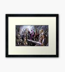 Final Universe War Framed Print