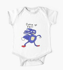 SANIC HEGEHOG GOTTA GO FAST One Piece - Short Sleeve