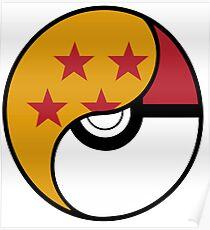 Dragon Ball x Pokemon Poster