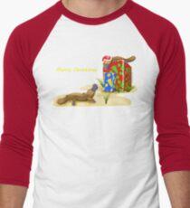Platypus and Christmas Gifts Men's Baseball ¾ T-Shirt