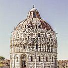 Baptistry Pisa Tuscany by DavidWHughes