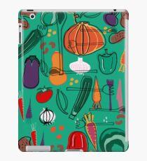 fall veggies green iPad Case/Skin