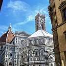 A Florence Scene by DavidWHughes