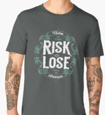 TAKE THE RISK  Men's Premium T-Shirt