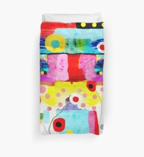 Abstract Art Rupy de Tequila Burned Rusted  Duvet Cover