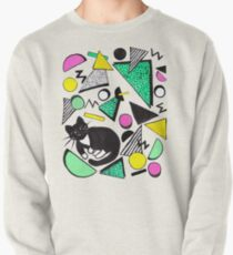Mog Rad Cat - White Pullover