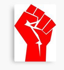 Commie Fist Canvas Print