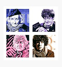 The First Four Time Travellers... Photographic Print