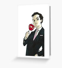 Valentine's Jim Greeting Card