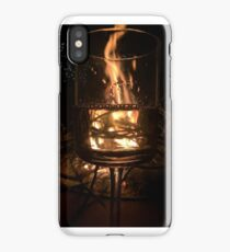 Pour The Wine Ignite The Fire Ladies iPhone Case/Skin