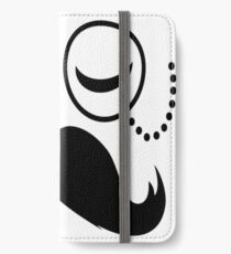 La Moustache Solo Fashionable Sir vintage funny style and popular cool boss iPhone Wallet/Case/Skin