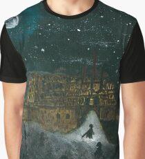 Edinburgh Castle Graphic T-Shirt