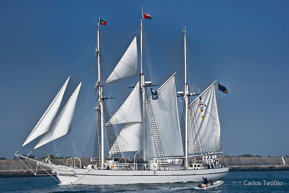 SHABAB OMAN (Vessels visit Portugal serie) by Carlos Teófilo