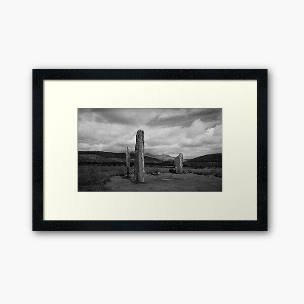 Standing Stones - Machrie Moor Arran Framed Art Print