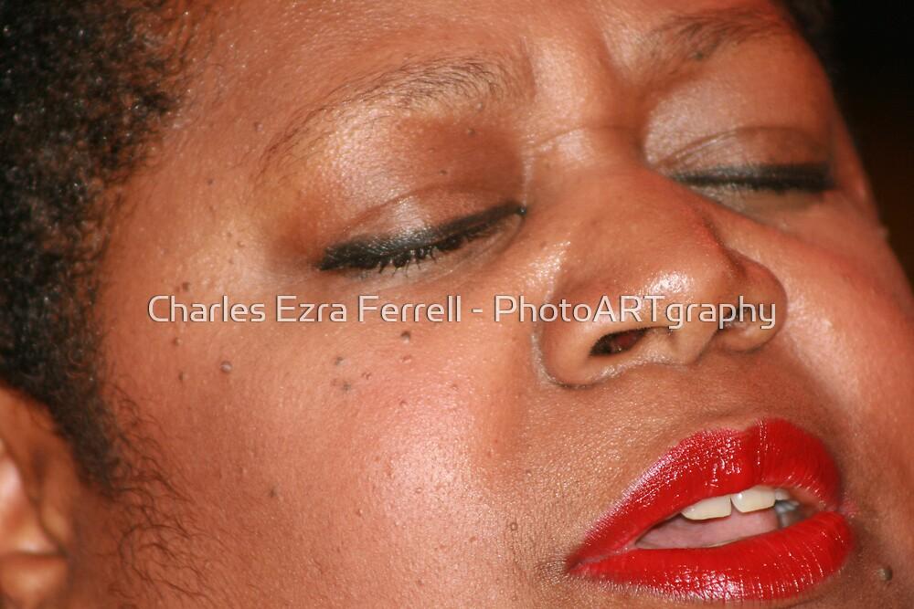 Soul Opening - Shahida Nurullah  by Charles Ezra Ferrell - PhotoARTgraphy