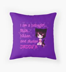 Daddy's girl Floor Pillow