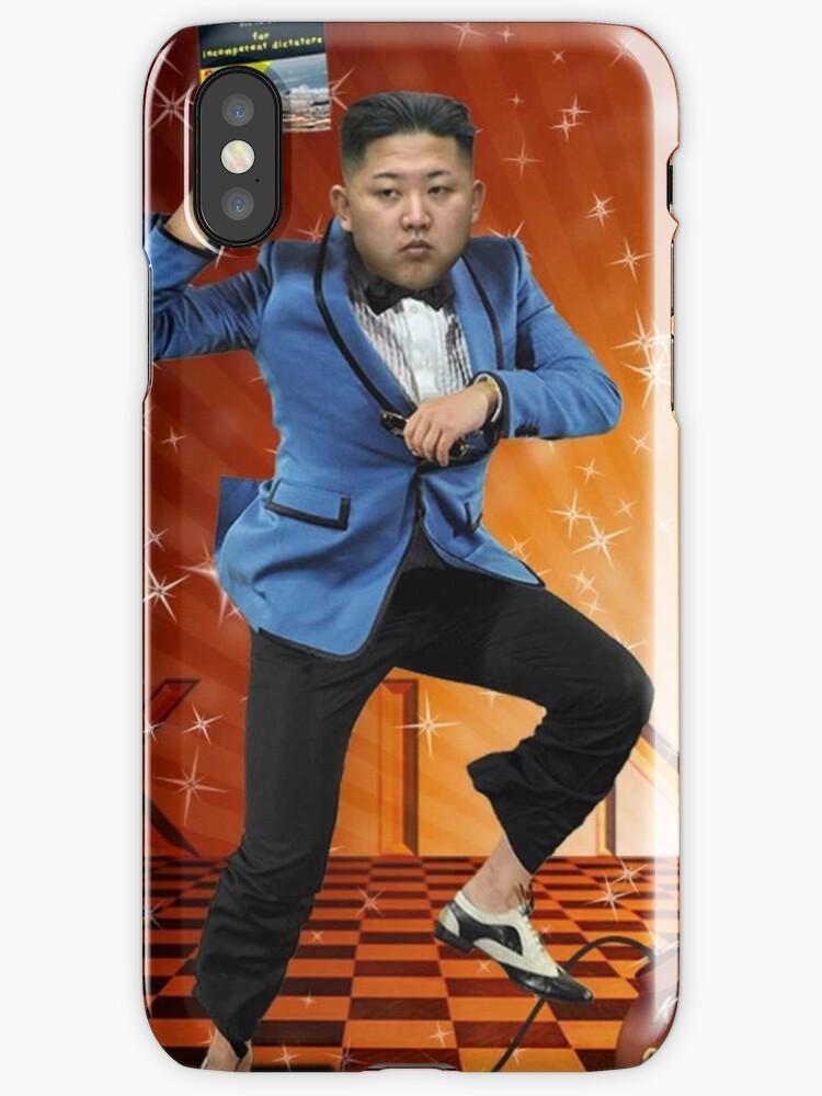 """Kim Jong Un Gangnam Style Meme"" iPhone Case & Cover by"