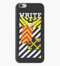 Off-White Style Virgil Abloh Diagonal Sticker iPhone Phone Case Off White Grey iPhone Case