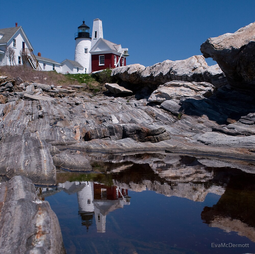 Pemaquid Light House by EvaMcDermott