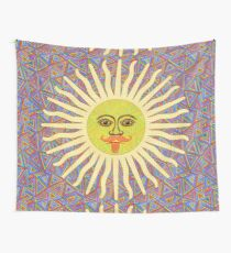 Sun Man  Wall Tapestry